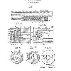 M1 Rifle Diagram 2015 Silverado Garand Gas Pressure U S Patent 2 369 669 Drawing Of John Venting Screw For The
