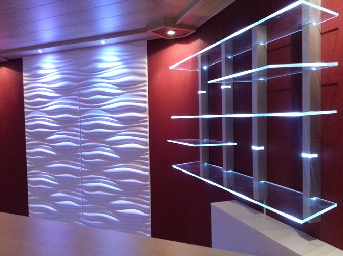 3D Wandpaneele Wohnungs-Design Wandverkleidung - Dekor INREDA * 3D Paneele kaufen