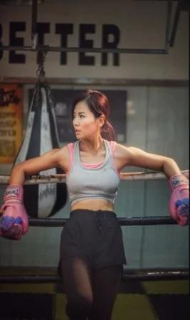 畫面太美!劉濤打拳照曝光 鎖骨肌肉美胸搶鏡