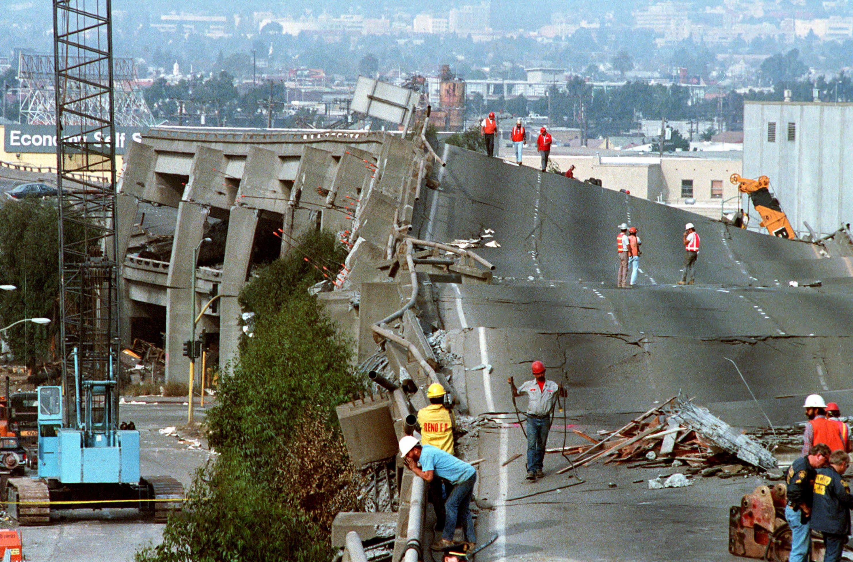 Image result for 1989旧金山大地震