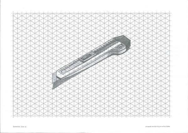 isometric drawing on Behance