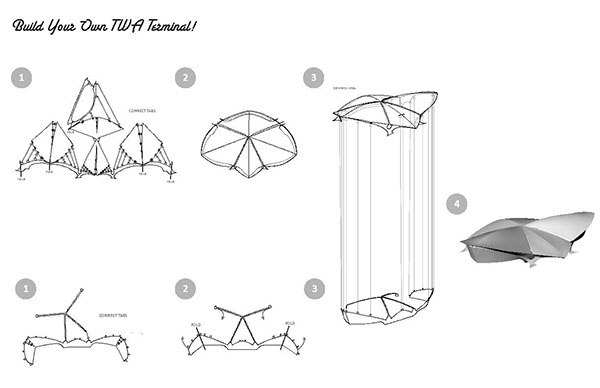 Exposing Continuity in Eero Saarinen's TWA Terminal on Behance
