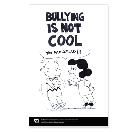 PSA: Bullying is NOT Cool! on Behance