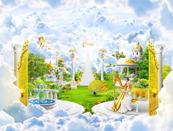 Résultats de recherche d'images pour «heaven paradise»