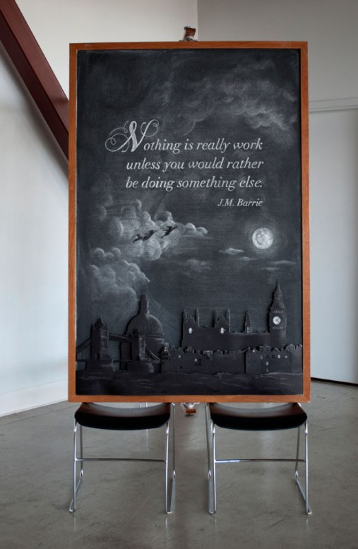 J.M. Barrie quote