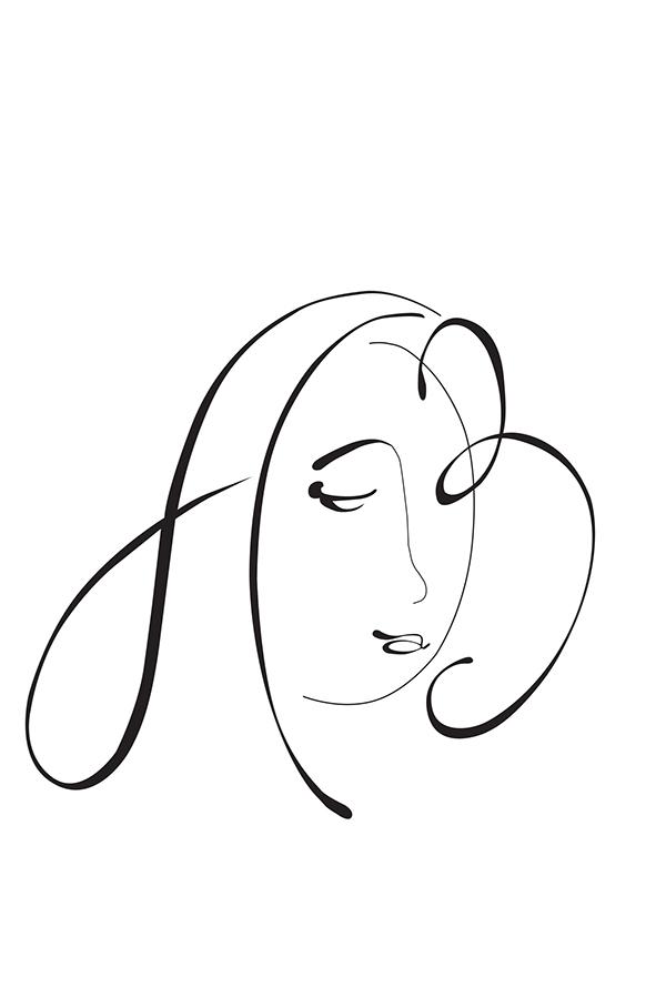 Calligraphy. Portraits on Behance