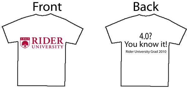 Rider University Senior T-Shirts on Behance