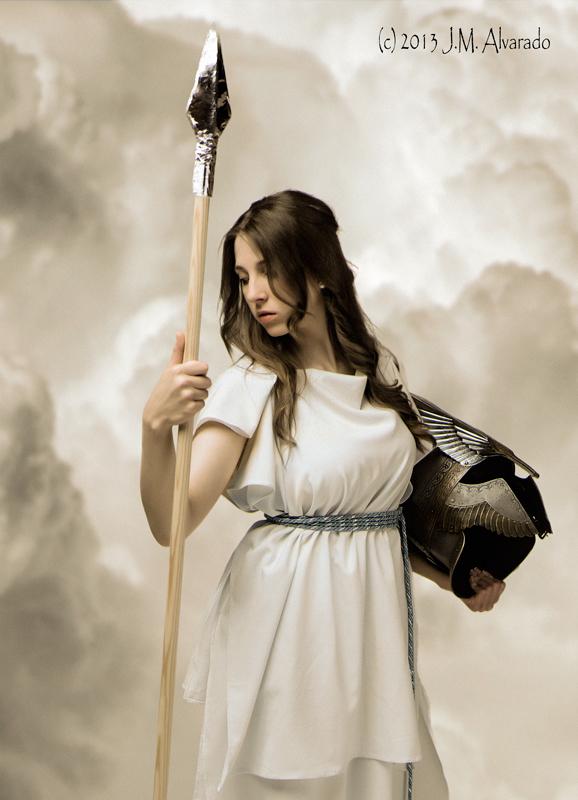 Atenea (Minerva) / Athena. Diosa guerrera de la sabiduría y las artes