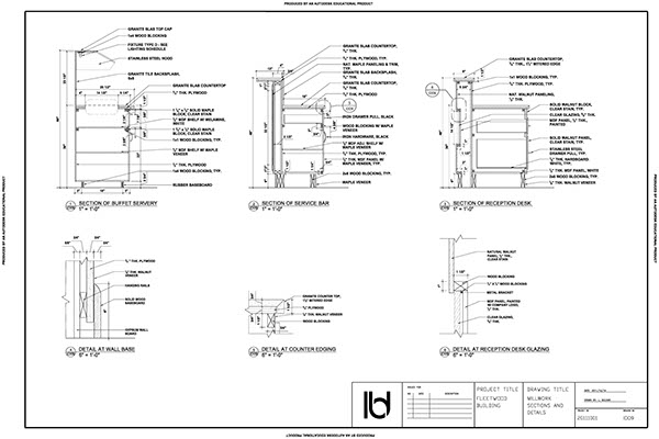 Working Drawings Package on Behance