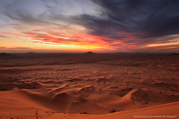 landscape in saudi arabia behance