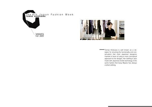 Tamae Hirokawa RTW Fall 2009 on Behance