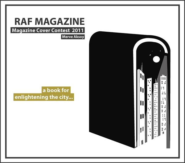 Graphic Design_Raf magazine on Behance
