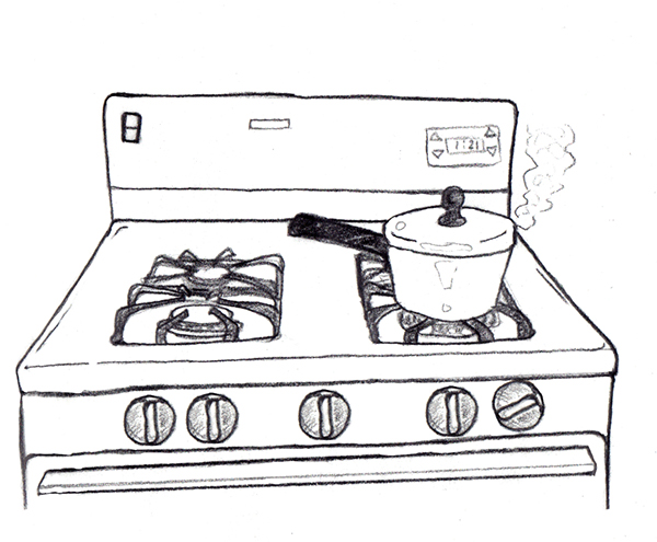 Gas Stove How To on Behance