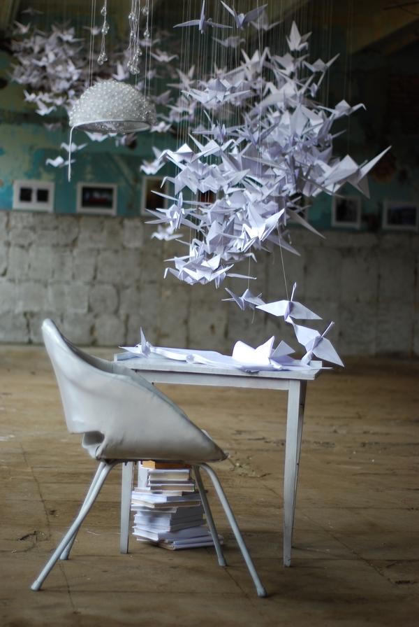 Ideas Generator art installation on Behance