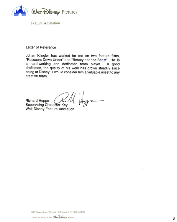 letter of character recommendation letter for program top 10 sample 1385
