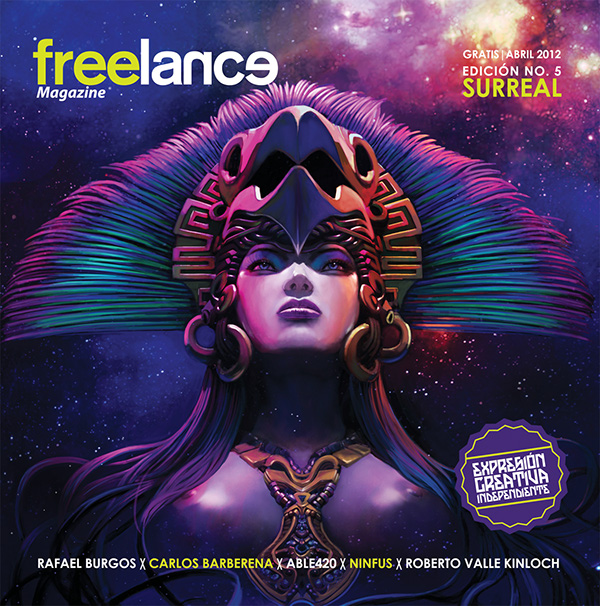 Freelance Magazine Box Cover  Poster Design on Behance