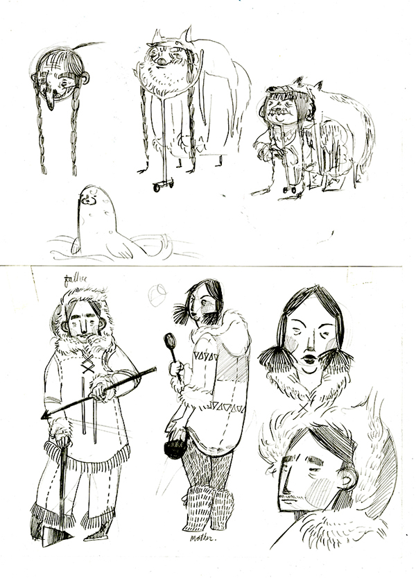 Hansel and Gretel in the Far North on Behance