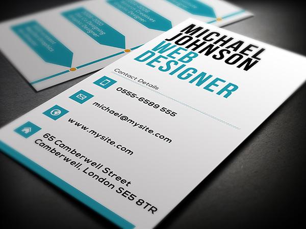 Web Designer Business Card On Behance