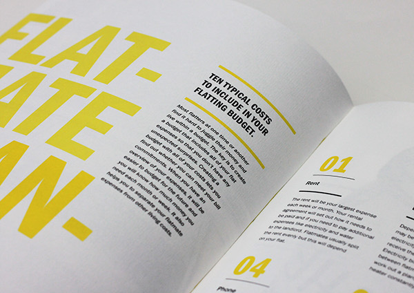 Flatmate's Handbook on Editorial Design Served