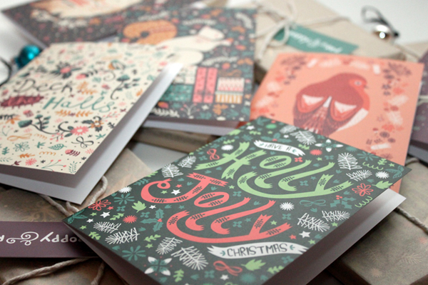 Christmas Card Collection On Behance