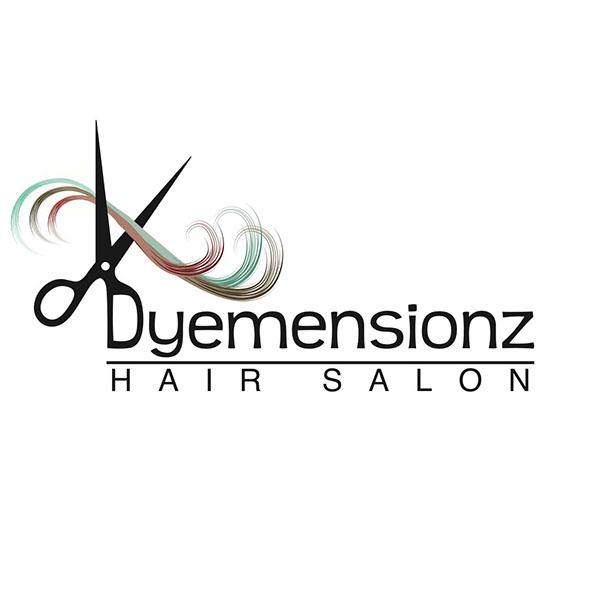 Dyemensionz Hair Salon Logo on Behance