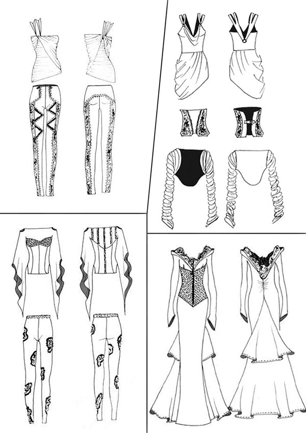 Fashion Design Students 3rd year RMIBLR on Behance