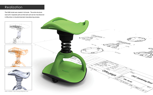 oxo high chair vanity stool prolong your love for gardening on behance