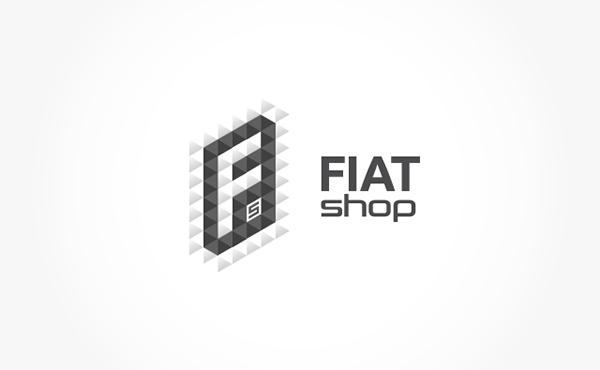 FiatShop Visual Identity on Behance