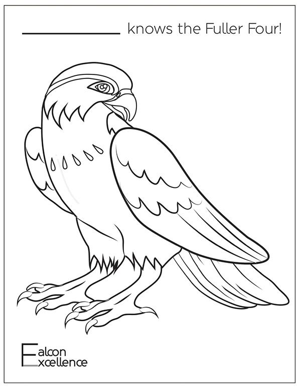 Millennium Falcon Coloring Page Coloring Pages