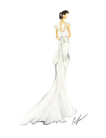 Bridal Fashion Week Illustrations on Behance