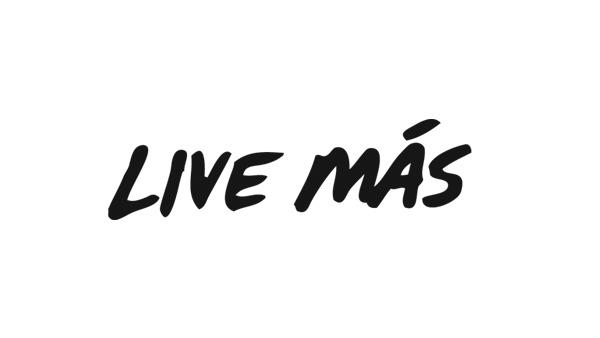 Live Más Typography on Behance