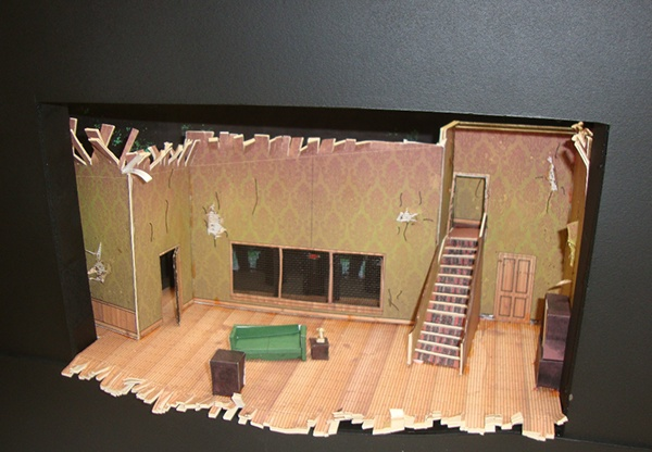 Theater Set Design Model Project On Behance