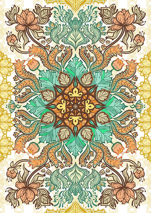 Indonesian Batik Patterns on Behance