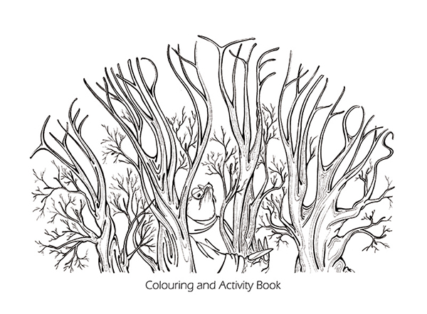 THE WIND IN THE WILLOWS ACTIVITY AND COLOURING BOOK on Behance