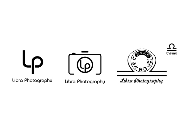 Logo design for Libra Photography on Behance