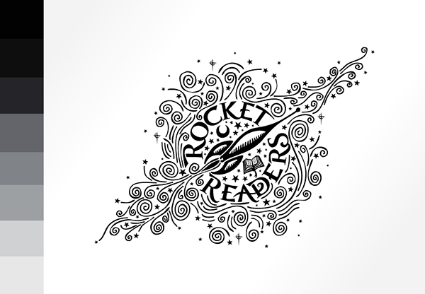 Branding :: Rocket Readers on Behance