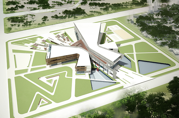 Youth Activity Center on Behance