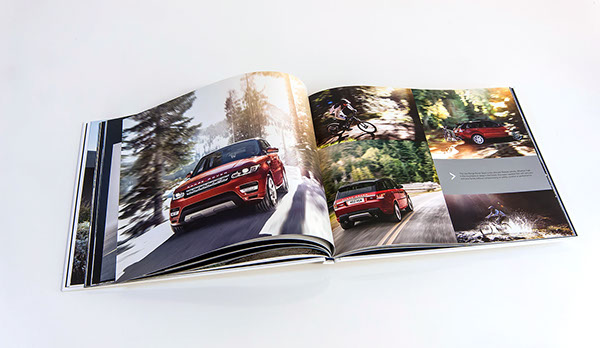 Range Rover Sport press pack by FP Creative