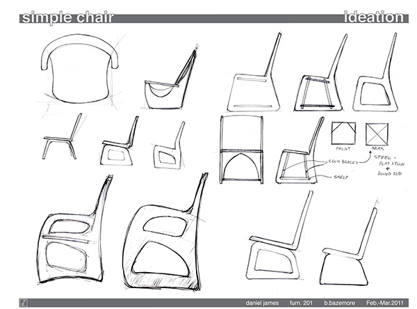 Simple Chair Project on Behance
