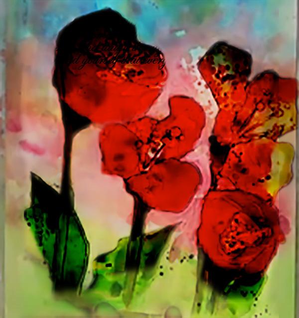 Ruffled & Shimmering Petals