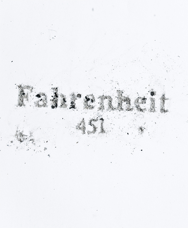 fahrenheit 451 on Typography Served