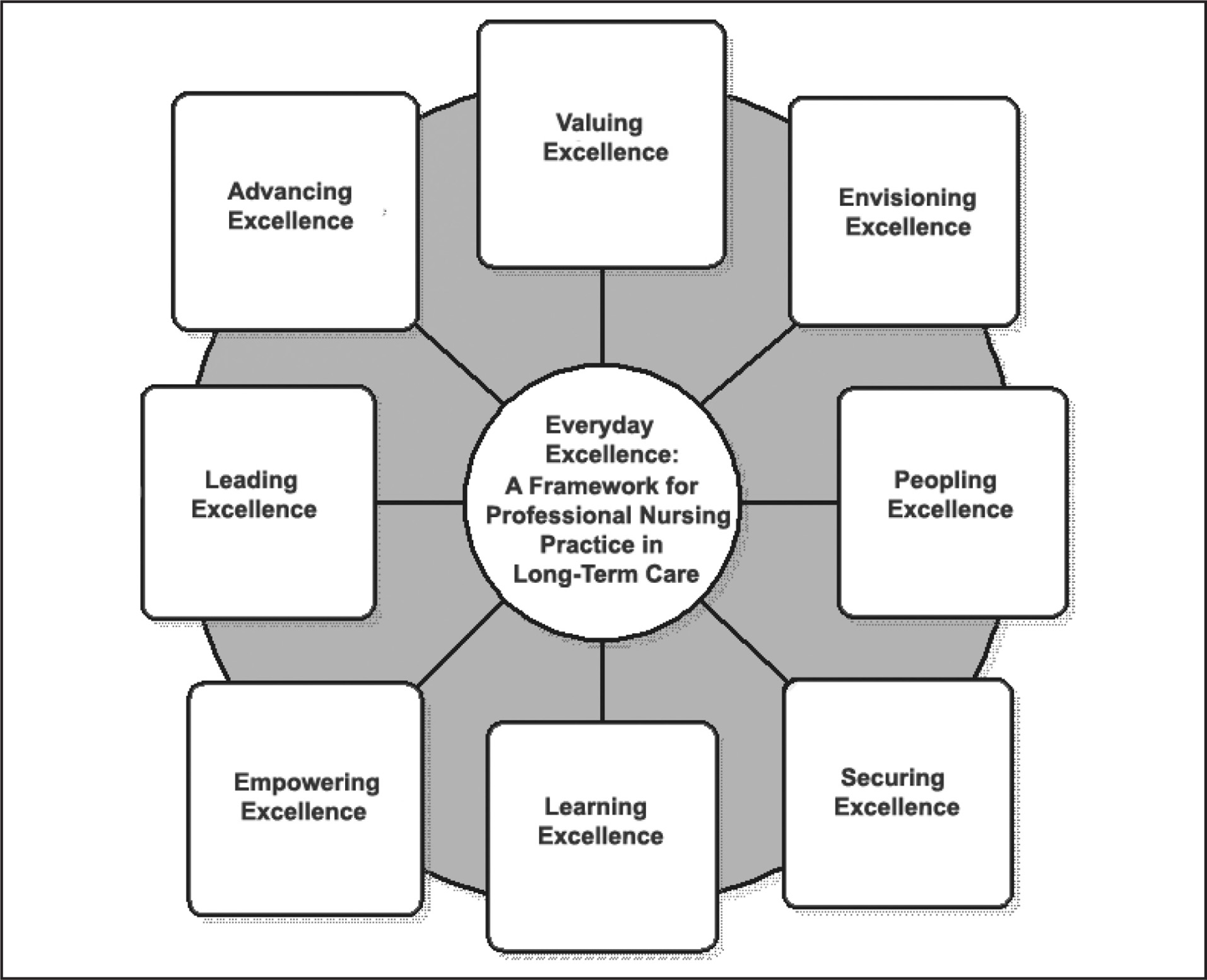 Everyday Excellence: A Framework for Professional Nursing