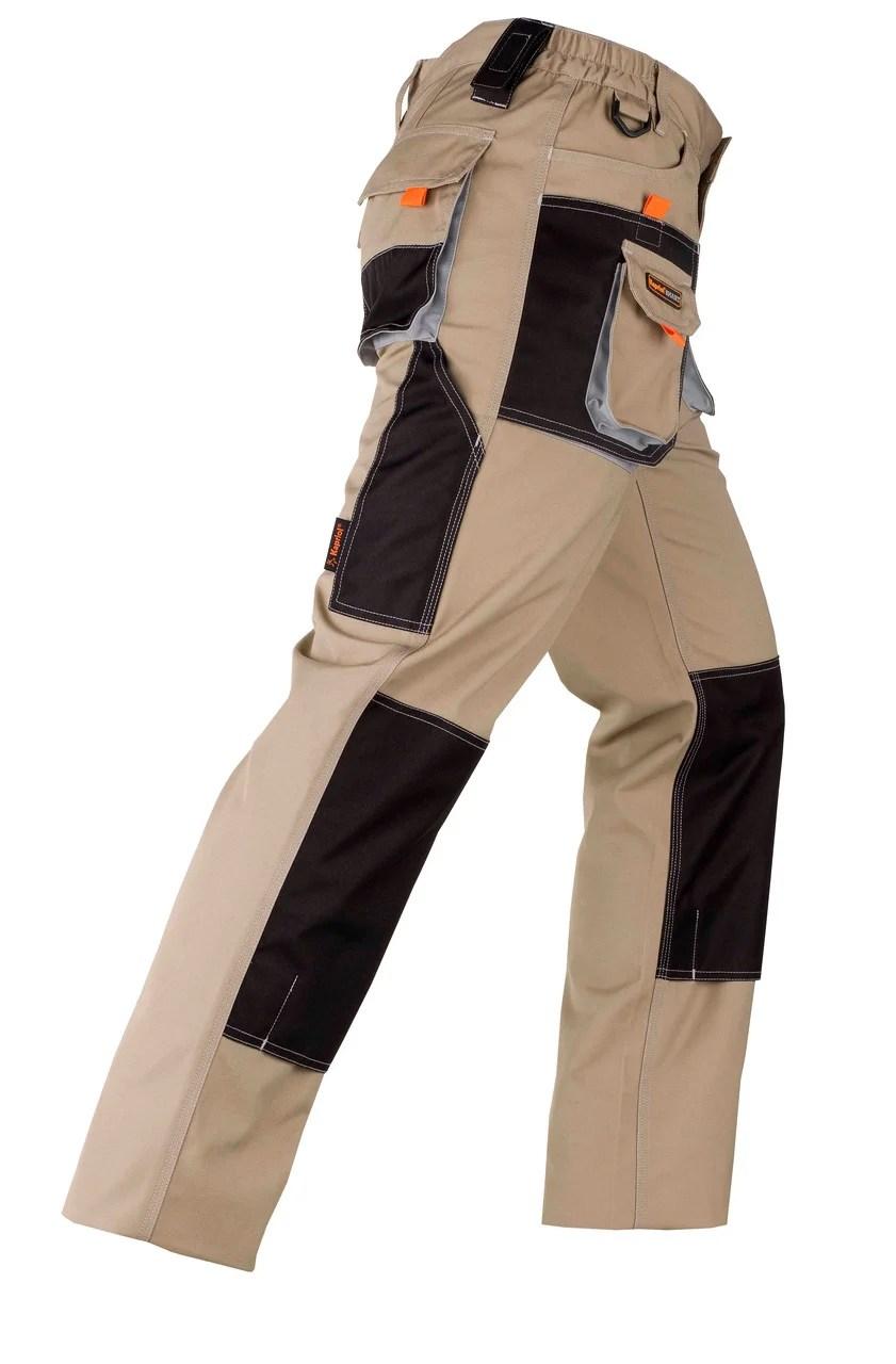 Pantalon De Travail Multipoche Kapriol Smart Gris Noir Taille L Leroy Merlin