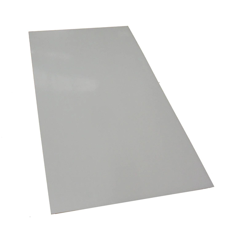 plaque pmma 3 mm blanc brillant l 100 x