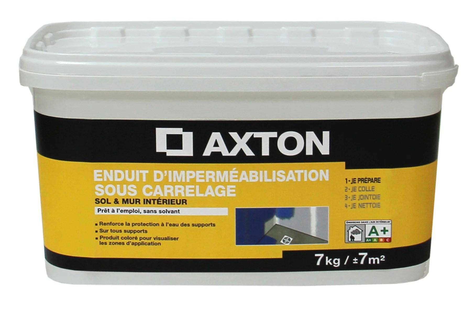 enduit d impermeabilisation axton 7 kg
