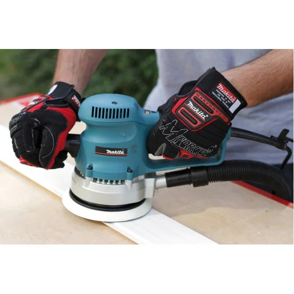 Ponceuse Excentrique Filaire Makita Bo6030 310 W Leroy Merlin