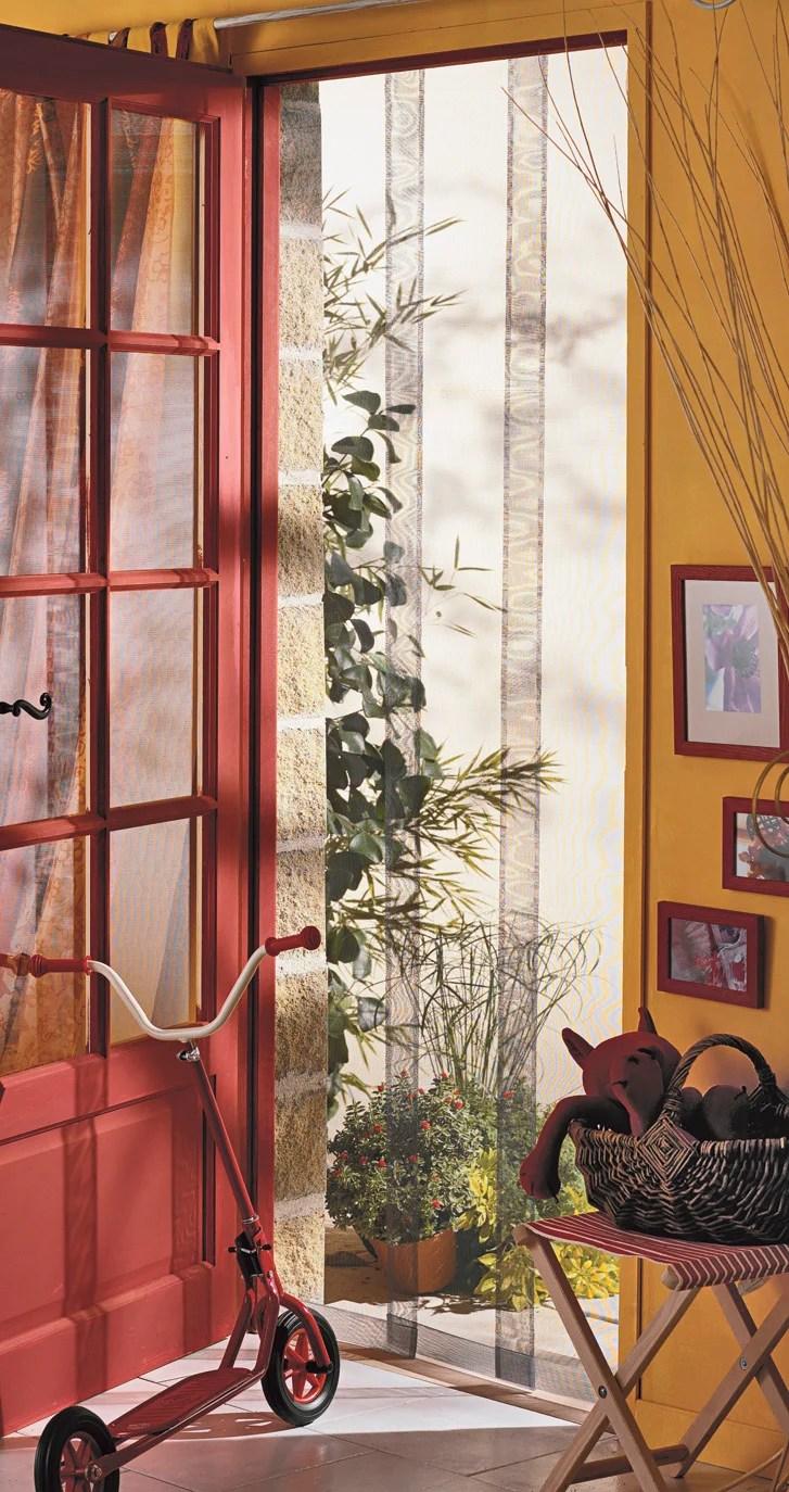 Moustiquaire Pour Porte Rideau Moustikit H 230 X L 100 Cm Leroy Merlin