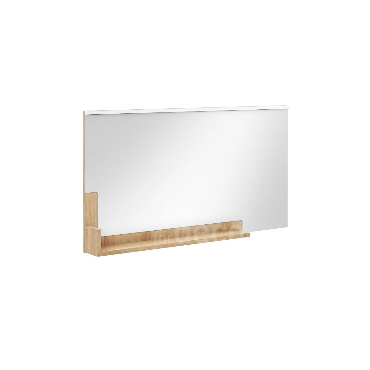 Miroir Lumineux Avec Eclairage Integre L 120 X H 64 Cm Eden Leroy Merlin