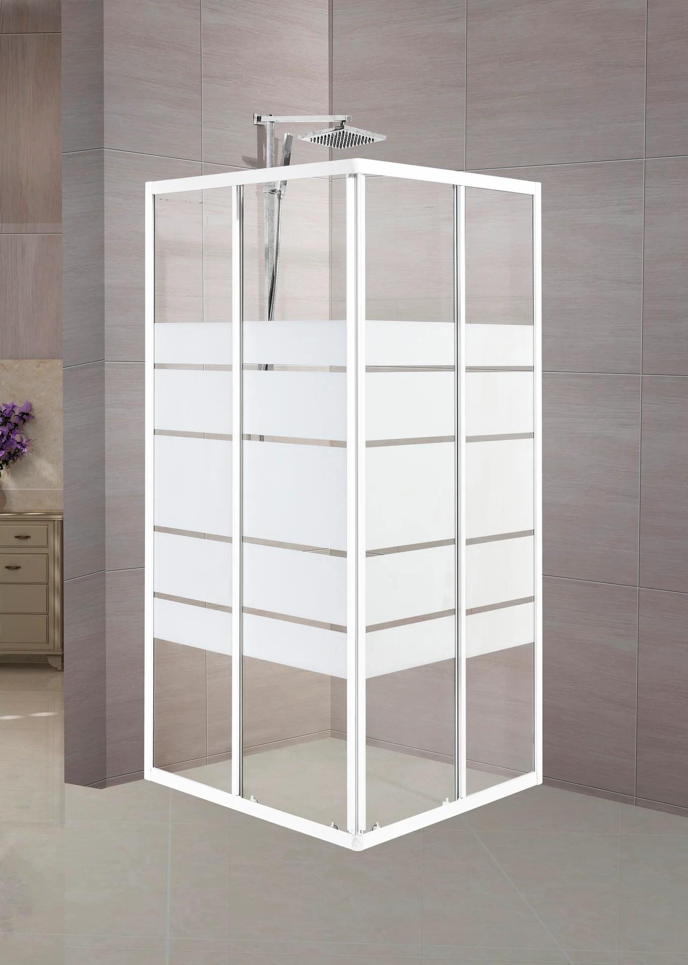 porte de douche angle carre l 70 cm x