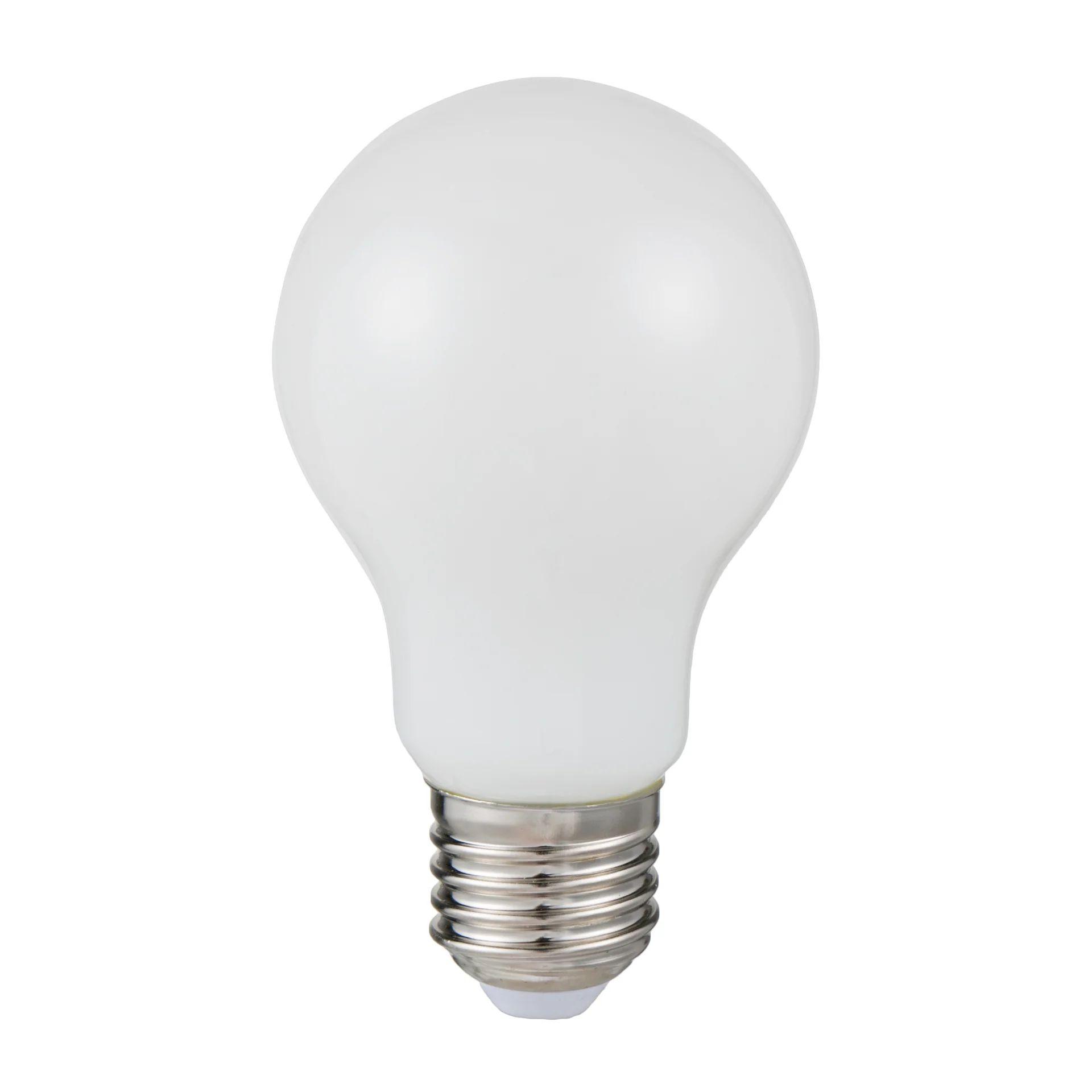 Ampoule Led A Filament Opaque Standard E27 806lm 60w Blanc 2700k Lexman Leroy Merlin